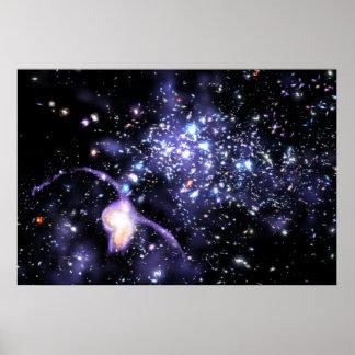 Main Galactic String Poster