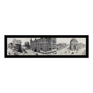 Main & Genesse Buffalo NY Photo 1911 Posters