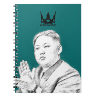 Main leadership people (North Korea) of the world Spiral Note Books