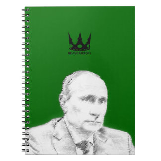 Main leadership people (Russia) of the world Spiral Notebooks