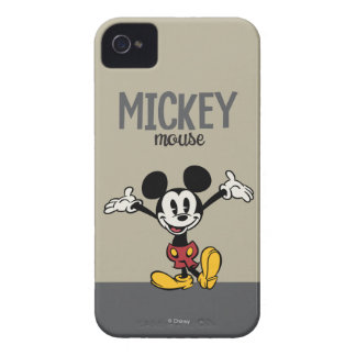 Main Mickey Shorts | Arms Up iPhone 4 Case