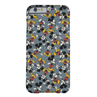 Main Mickey Shorts | Blue Icon Pattern Barely There iPhone 6 Case