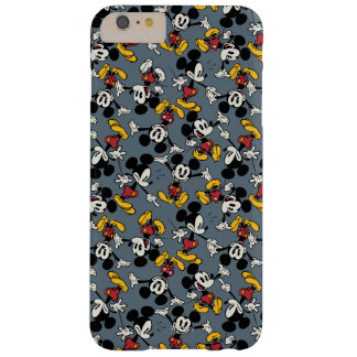 Main Mickey Shorts   Blue Icon Pattern Barely There iPhone 6 Plus Case