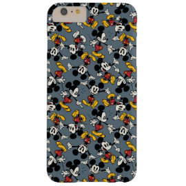 Main Mickey Shorts | Blue Icon Pattern Barely There iPhone 6 Plus Case