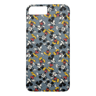 Main Mickey Shorts | Blue Icon Pattern iPhone 8 Plus/7 Plus Case