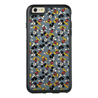 Main Mickey Shorts | Blue Icon Pattern OtterBox iPhone 6/6s Plus Case