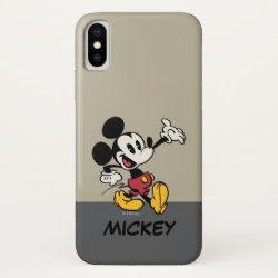 Case-Mate Barely There iPhone X Case with Cute Frozen's Olaf Line Drawing with Snowflakes and Hearts design