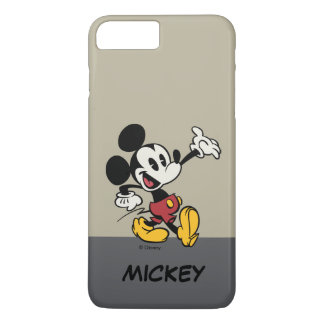 Main Mickey Shorts | Classic Mickey | Your Name iPhone 8 Plus/7 Plus Case