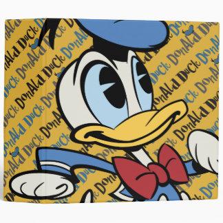 Main Mickey Shorts | Donald Duck 3 Ring Binder