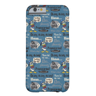 Main Mickey Shorts | Donald Duck Blue Pattern Barely There iPhone 6 Case