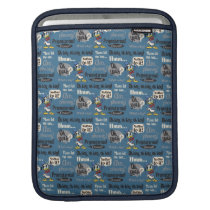 Main Mickey Shorts | Donald Duck Blue Pattern iPad Sleeve