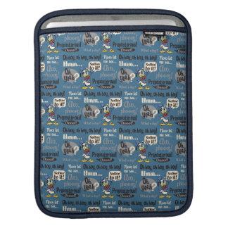 Main Mickey Shorts | Donald Duck Blue Pattern iPad Sleeve