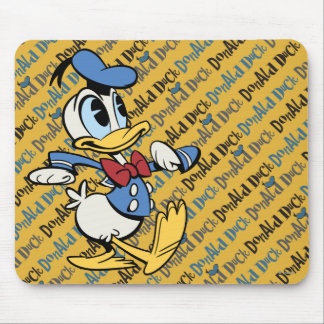 Main Mickey Shorts | Donald Duck Mouse Pad