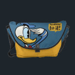 "Main Mickey Shorts | Donald Duck Salute Messenger Bag<br><div class=""desc"">Mickey Shorts - Donald Duck</div>"