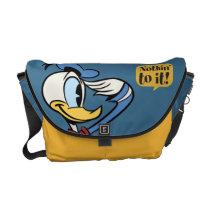 Main Mickey Shorts | Donald Duck Salute Messenger Bag