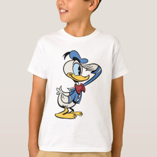 Main Mickey Shorts | Donald Duck Salute T-Shirt