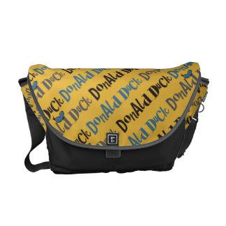Main Mickey Shorts | Donald Duck Yellow Pattern Messenger Bag
