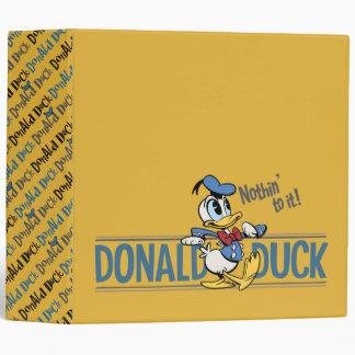 Main Mickey Shorts | Donald Hot Shot 3 Ring Binder