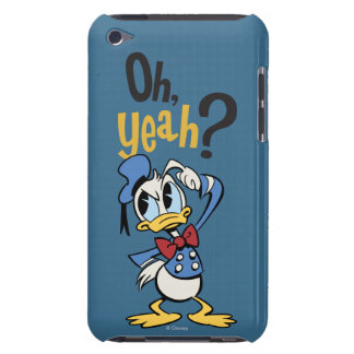 Main Mickey Shorts   Donald Scratching Head Barely There iPod Cover