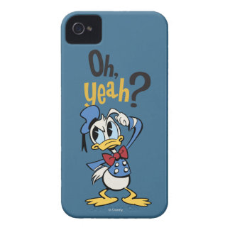 Main Mickey Shorts | Donald Scratching Head iPhone 4 Case