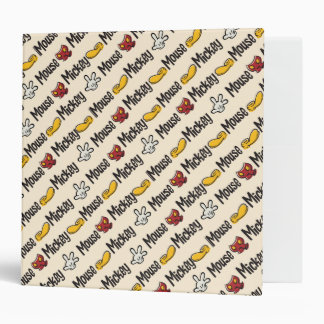 Main Mickey Shorts | Icon Pattern Binder