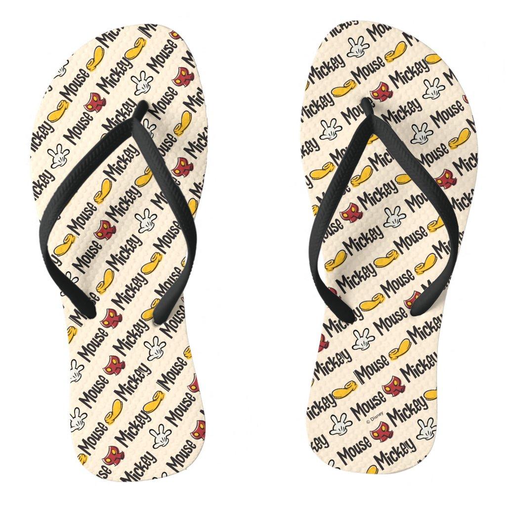 Main Mickey Shorts | Icon Pattern Flip Flops