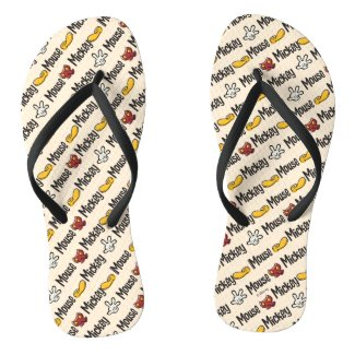Main Mickey Shorts | Icon Pattern Flip Flops