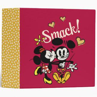 Main Mickey Shorts | Kiss on Cheek 3 Ring Binder