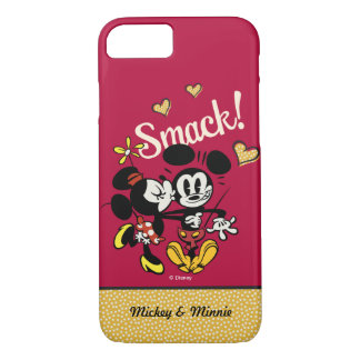 Main Mickey Shorts | Kiss on Cheek | Your Name iPhone 8/7 Case