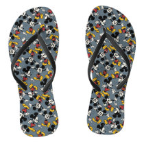 Main Mickey Shorts | Mickey Pattern Flip Flops