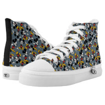 Main Mickey Shorts | Mickey Pattern High-Top Sneakers