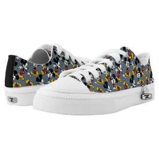 Main Mickey Shorts | Mickey Pattern Low-Top Sneakers