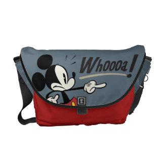 Main Mickey Shorts | Mickey Pointing Whooa Messenger Bag