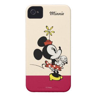 Main Mickey Shorts | Minnie Hand to Face iPhone 4 Case-Mate Case