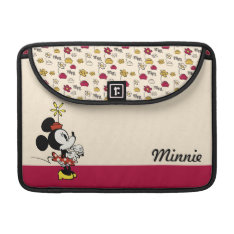 Main Mickey Shorts | Minnie Hand To Face Macbook Pro Sleeve at Zazzle