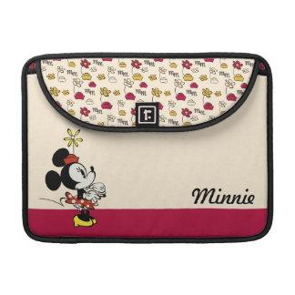 Main Mickey Shorts   Minnie Hand to Face MacBook Pro Sleeve
