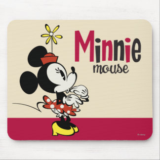 Main Mickey Shorts | Minnie Hand to Face Mouse Pad