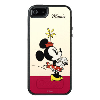 Main Mickey Shorts | Minnie Hand to Face OtterBox iPhone 5/5s/SE Case