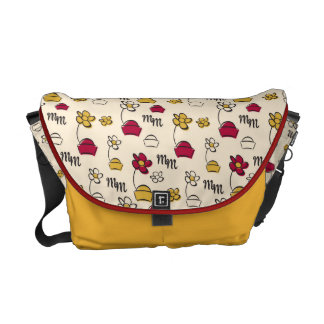 Main Mickey Shorts | Minnie Hats Pattern Messenger Bag