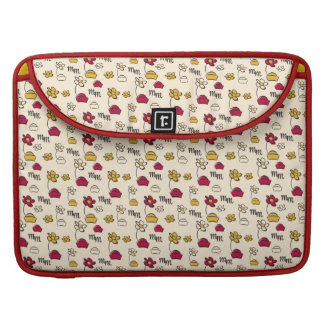Main Mickey Shorts | Minnie Hats Pattern Sleeve For MacBook Pro