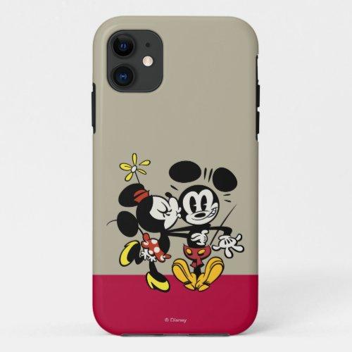 Main Mickey Shorts | Minnie Kissing Mickey Phone Case