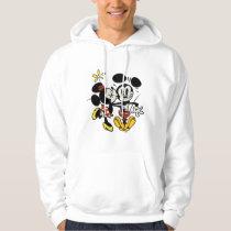 Main Mickey Shorts | Minnie Kissing Mickey Hoodie