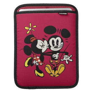 Main Mickey Shorts   Minnie Kissing Mickey iPad Sleeve