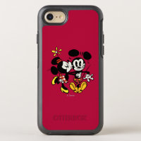 Main Mickey Shorts | Minnie Kissing Mickey OtterBox Symmetry iPhone 8/7 Case