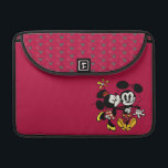"Main Mickey Shorts | Minnie Kissing Mickey Sleeve For MacBook Pro<br><div class=""desc"">Mickey Shorts -Mickey and Minnie Mouse</div>"