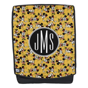 Disney Themed Main Mickey Shorts | Minnie Mouse Monogram Backpack