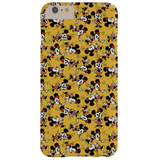 Main Mickey Shorts   Minnie Mouse Orange Pattern Barely There iPhone 6 Plus Case