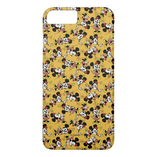 Main Mickey Shorts| Minnie Mouse Orange Pattern Phone Case
