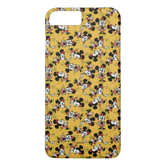 Main Mickey Shorts | Minnie Mouse Orange Pattern iPhone 8 Plus/7 Plus Case