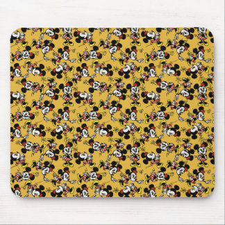 Main Mickey Shorts | Minnie Mouse Orange Pattern Mouse Pad